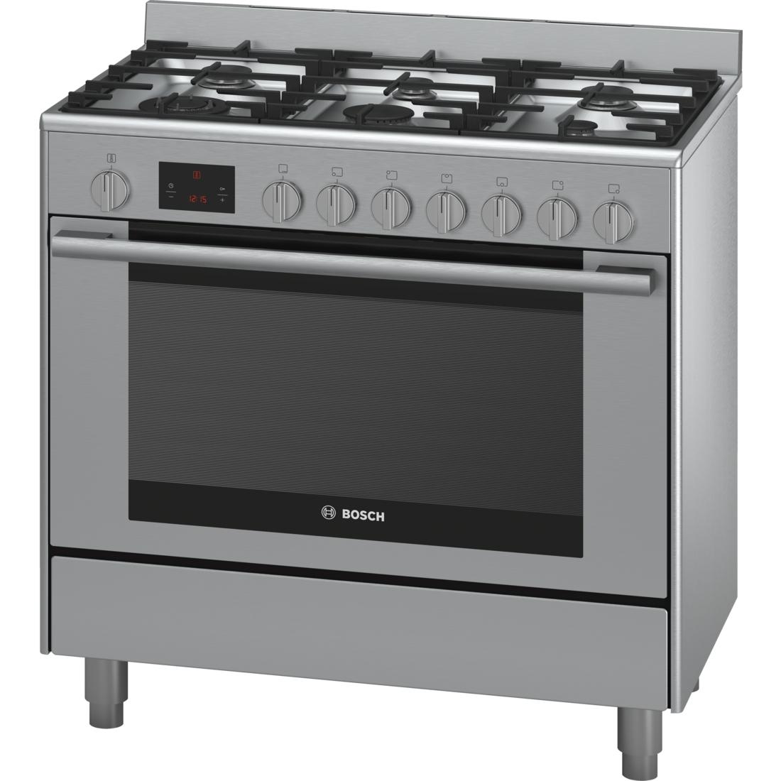 bosch 90cm series 6 112l dual fuel freestanding oven stove hsb738357a ebay. Black Bedroom Furniture Sets. Home Design Ideas