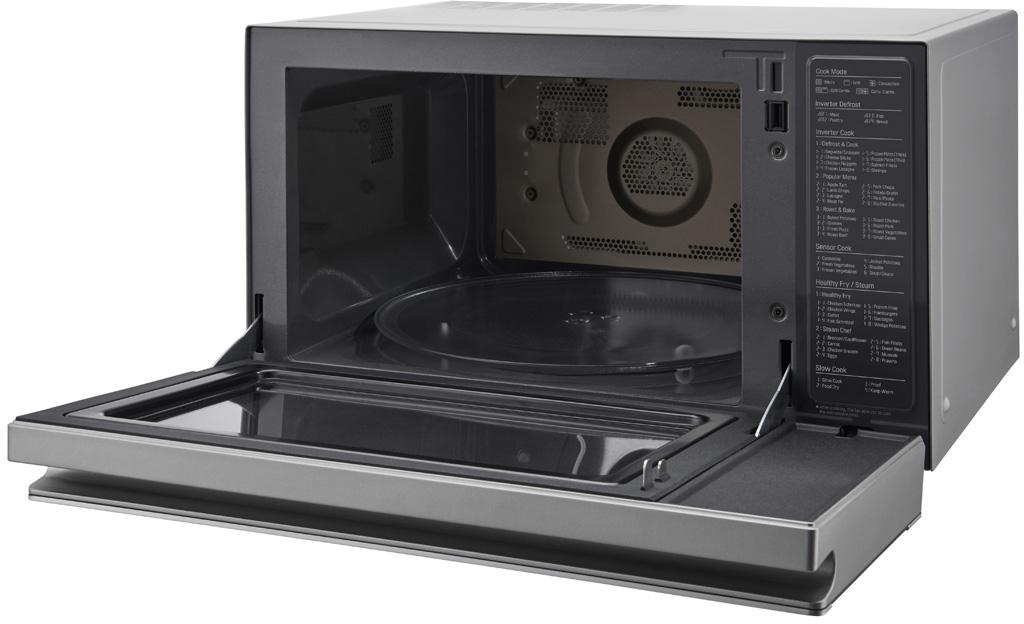 Lg 1100w 39l Neochef Smart Inverter Microwave Oven
