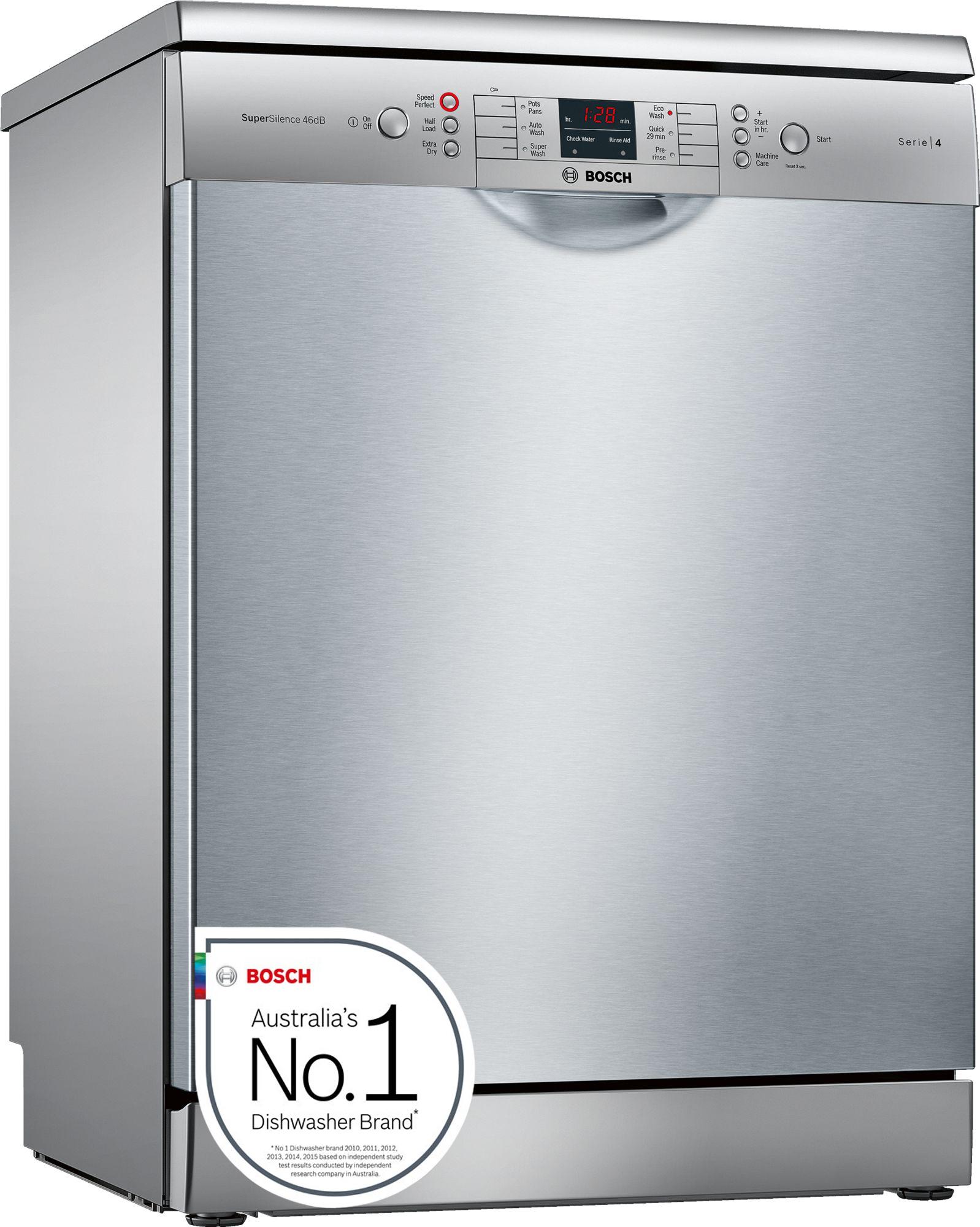 bosch 60cm series 4 freestanding dishwasher sms46gi01a aud picclick au. Black Bedroom Furniture Sets. Home Design Ideas