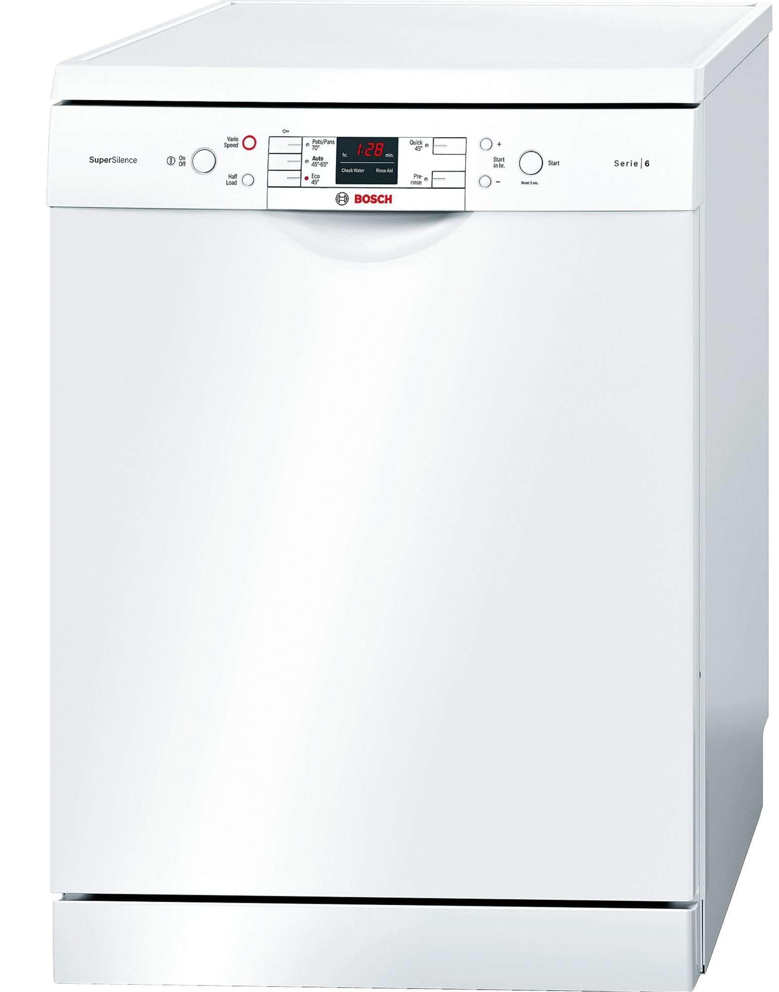 bosch 60cm series 6 freestanding dishwasher sms50m22au ebay. Black Bedroom Furniture Sets. Home Design Ideas